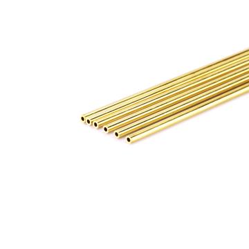 推荐电火花细孔放电机单孔黄铜管,电极管电极丝,0.6*400(100支)