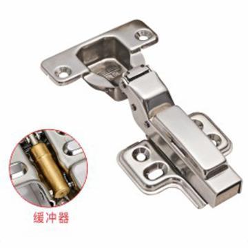 固特 缓冲铰链,302,08半盖,不锈钢,自卸