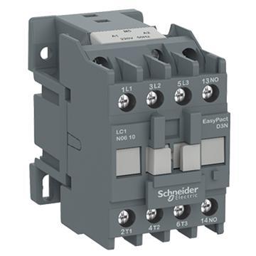 施耐德Schneider EasyPact D3N接触器,25A,220V50/60Hz,1NO,LC1N2510M7N