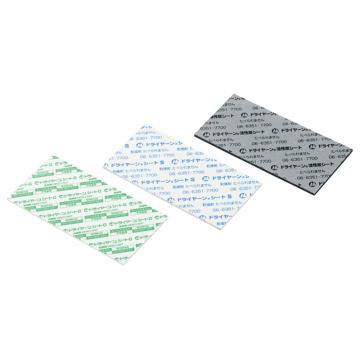 西域推荐 片状干燥剂(Dryan),氯化钙+纸浆,尺寸:100×100mm,厚度1mm,大,3-5167-02