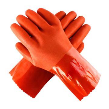东亚 PVC浸塑手套,508