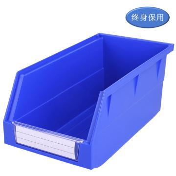 Raxwell 背挂零件盒 物料盒,外尺寸规格D*W*H(mm):270×140×125,全新料,蓝色,单位:个