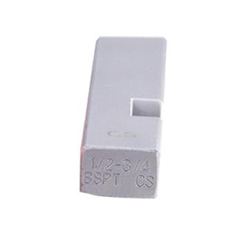 虎王 电动套丝机板牙4分2寸3寸4寸螺纹板牙镀锌钢管铁水管开牙器,1-2寸(合金钢,普通钢管)