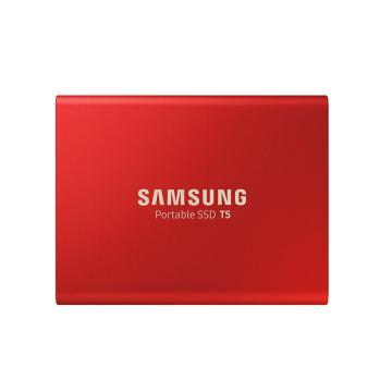三星固态硬盘,500G SSD T5 MU-PA500B/CN 红色