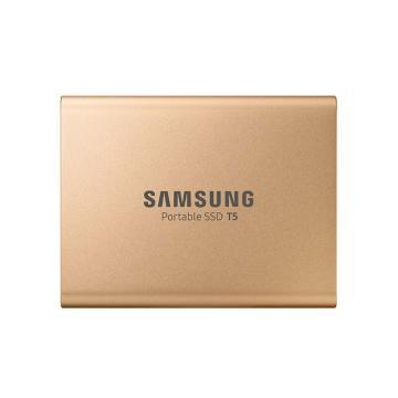 三星固态硬盘,500G SSD T5 MU-PA500B/CN 金色