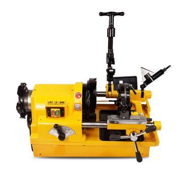 虎王 电动套丝机多功能4寸螺纹套丝机大功率消防管绞丝机,SQ100D1(4寸套丝机 经典版 220v)