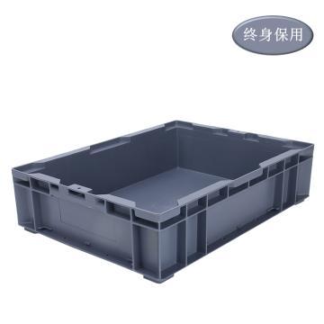 Raxwell HP系列灰色周转箱HP4A 尺寸(mm):外:435*325*110/内:390*280*90