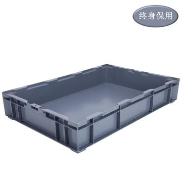Raxwell HP系列灰色周转箱HP6A 尺寸(mm):外:650*435*110/内:605*390*90