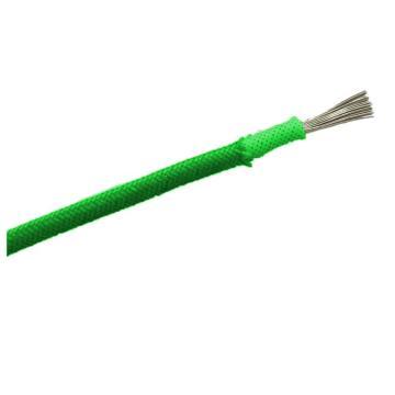 远东 铝芯聚氯乙烯绝缘聚氯乙烯护套圆型阻燃A类电缆, ZA-BLVV-300/500V-1*4绿,100米/卷
