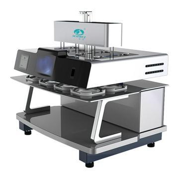 新芝 溶出试验仪,8 杯试验装置,竹节式升降柱,电动同步投药,RC810G,CC-5058-01