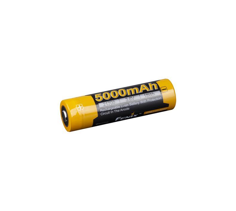 Fenix ARB-L21-5000 强光手电筒电池 可充电锂电池21700锂电池,单位:个