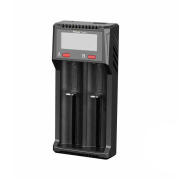 Fenix ARE-D2 数显多功能18650 26650 16340锂电池AA智能双槽充电器,单位:个