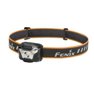 Fenix Led强光头灯 HL18R黑色 USB充电户外锂电池轻便式头灯(含1300毫安电池和充电线),单位:个