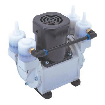 爱发科 干式真空泵,排气速度:20L/min,吸气口径(φmm):OD9×ID5,DA-20D,C1-671-06