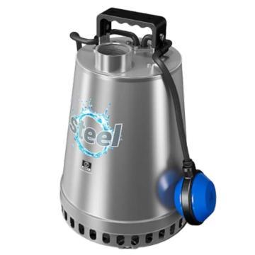 泽尼特/Zenit 不锈钢304潜水排污泵,DR-STEEL 75 M5 0 TG1N2300NN,230V,DN40,螺纹连接,带摆臂式浮球