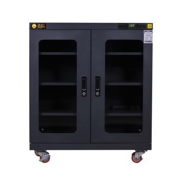 美阳 15-50%RH干燥柜,可定点控制,3片标准层板,内寸(WDH)mm:903×425×869,334L,H15U-315(黑)