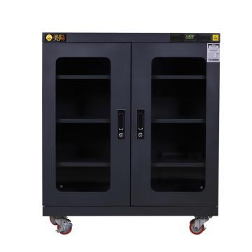 美阳 1-50%RH干燥柜,可定点调整,3片标准层板,内寸(WDH)mm:903×425×869,334L,H1U-315(黑)