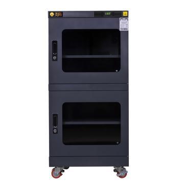 美阳 1-50%RH干燥柜,可定点调整,3片标准层板,内寸(WDH)mm:598×645×1071,413L,H1U-490(黑)