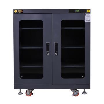 美阳 1-50%RH干燥柜,可定点调整,3片标准层板,内寸(WDH)mm:903×773×869,607L,H1U-575(黑)