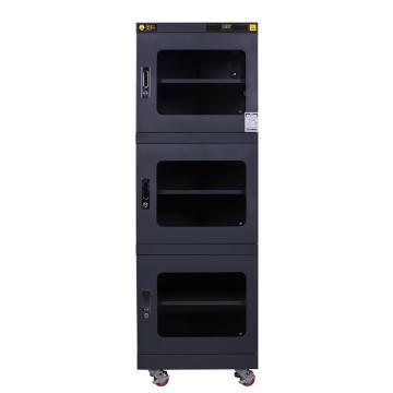 美阳 1-50%RH干燥柜,可定点调整,5片标准层板,内寸(WDH)mm:598×645×1618,624L,H1U-790(黑)