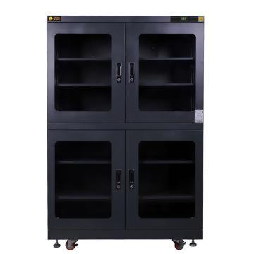 美阳 15-50%RH干燥柜_4,定点控制,5片标准层板,内寸(WDH)mm:1198×645×1618,1250L,H15U-1490-4(黑)