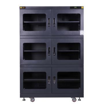 美阳 15-50%RH干燥柜_6,定点控制,5片标准层板,内寸(WDH)mm:1198×645×1618,1250L,H15U-1490-6(黑)