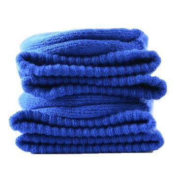 美看 男士毛圈袜,MK1225男-纯粹蓝,纯色,1双