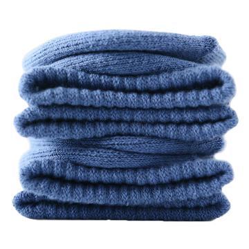 美看 女士毛圈袜,MK1225女-牛仔蓝,纯色,1双