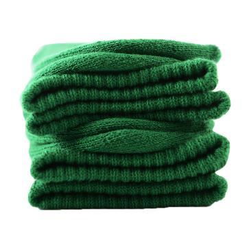 美看 女士毛圈袜,MK1225女-英伦绿,纯色,1双