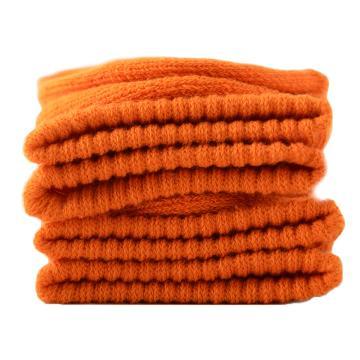 美看 女士毛圈袜,MK1225女-橘子,纯色,1双