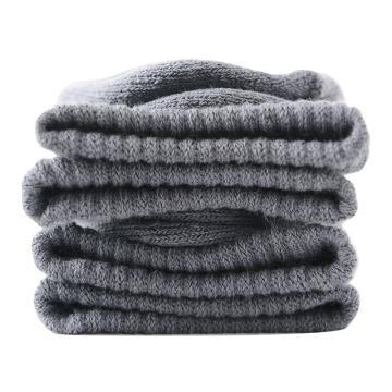 美看 女士毛圈袜,MK1225女-浅灰,纯色,1双