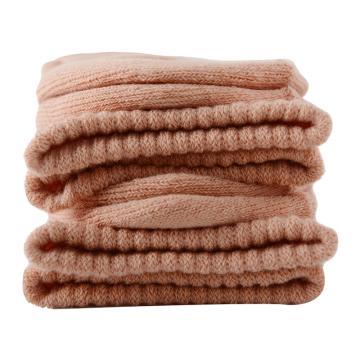 美看 女士毛圈袜,MK1225女-裸粉,纯色,1双