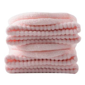美看 女士毛圈袜,MK1225女-婴儿粉,纯色,1双