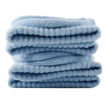 美看 女士毛圈袜,MK1225女-婴儿蓝,纯色,1双