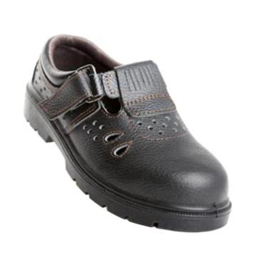 羿科 夏季安全鞋,60710835-44,EP303X低帮黑色防砸