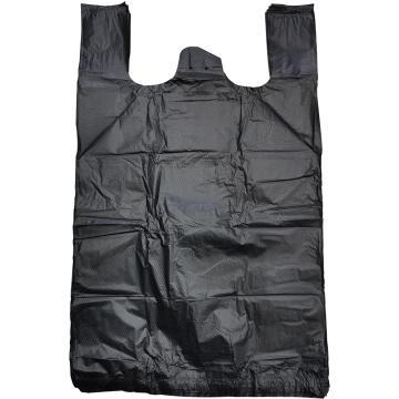 8113820西域推荐 黑色垃圾袋手提式加厚,300*500 可降解 单位:个