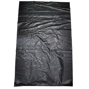 8113820西域推荐 黑色垃圾袋平口加厚,600*800 可降解 单位:个