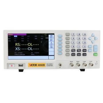 胜利 台式电桥(1MHZ测试频率),VICTOR 4092B