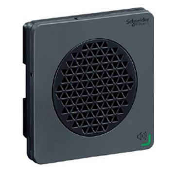 施耐德Schneider 进口 XVS声音报警器,可编辑语音报警器(DIN72)-12/24 DC-NPN-黑,XVSV7BBN