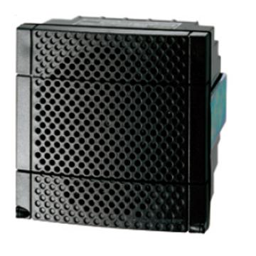 施耐德Schneider 进口 XVS声音报警器,电子式声音报警器(DIN72)-12/24 AC-NPN-黑,XVS72BMBN