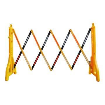 锦安行 折叠式伸缩护栏,H960×W390×L2500mm,JCH-M03