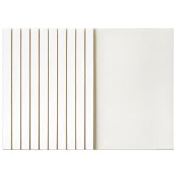 得力 热熔封套(白)(10PCS/袋),3867