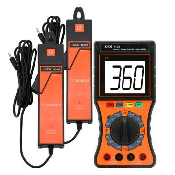 胜利 双钳数学相位伏安表(电压600V),VICTOR 4100