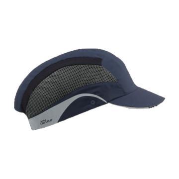 洁适比JSP 轻飞全盔防碰撞帽,海军蓝,0901-6004EH