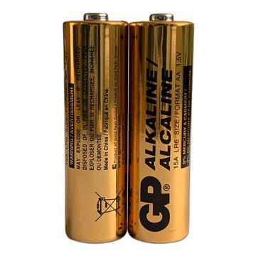 超霸 5号电池,碱性 AA2节/卡 单位:卡