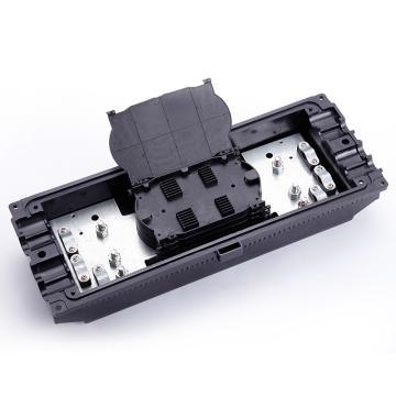 海乐Haile 3进3出卧式光纤接头盒,黑色,HT-JX-3