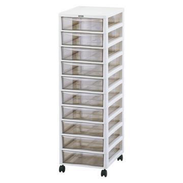 西域推荐 存放柜,保存柜,收纳柜,实验室数据耗材等存放,10层,AP-F10,2-7538-03
