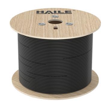 海乐Haile 305米室外防水超五类网线,HT6508