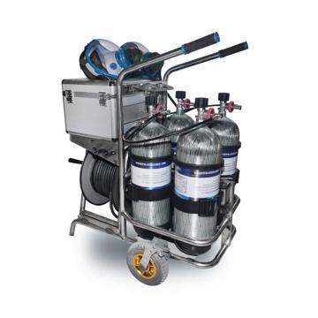 海固 移动供气源车载式长管呼吸器,CHZK4/9F/30