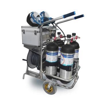海固 移动供气源车载式长管呼吸器,CHZK4/6.8F/30